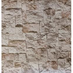 Tapeta ścienna 2-0663 cegła brokat