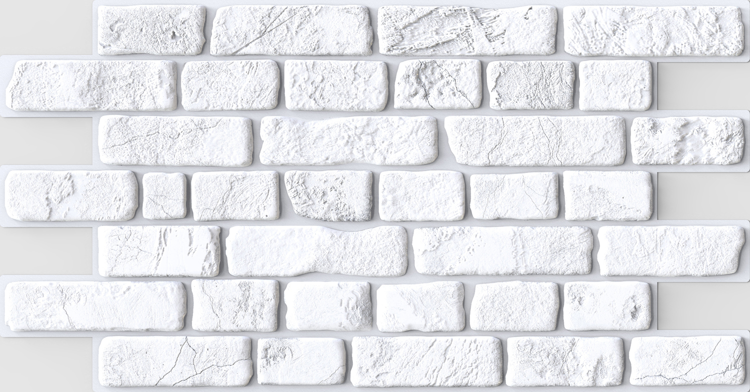 PVC panel Brick Retro White.jpg